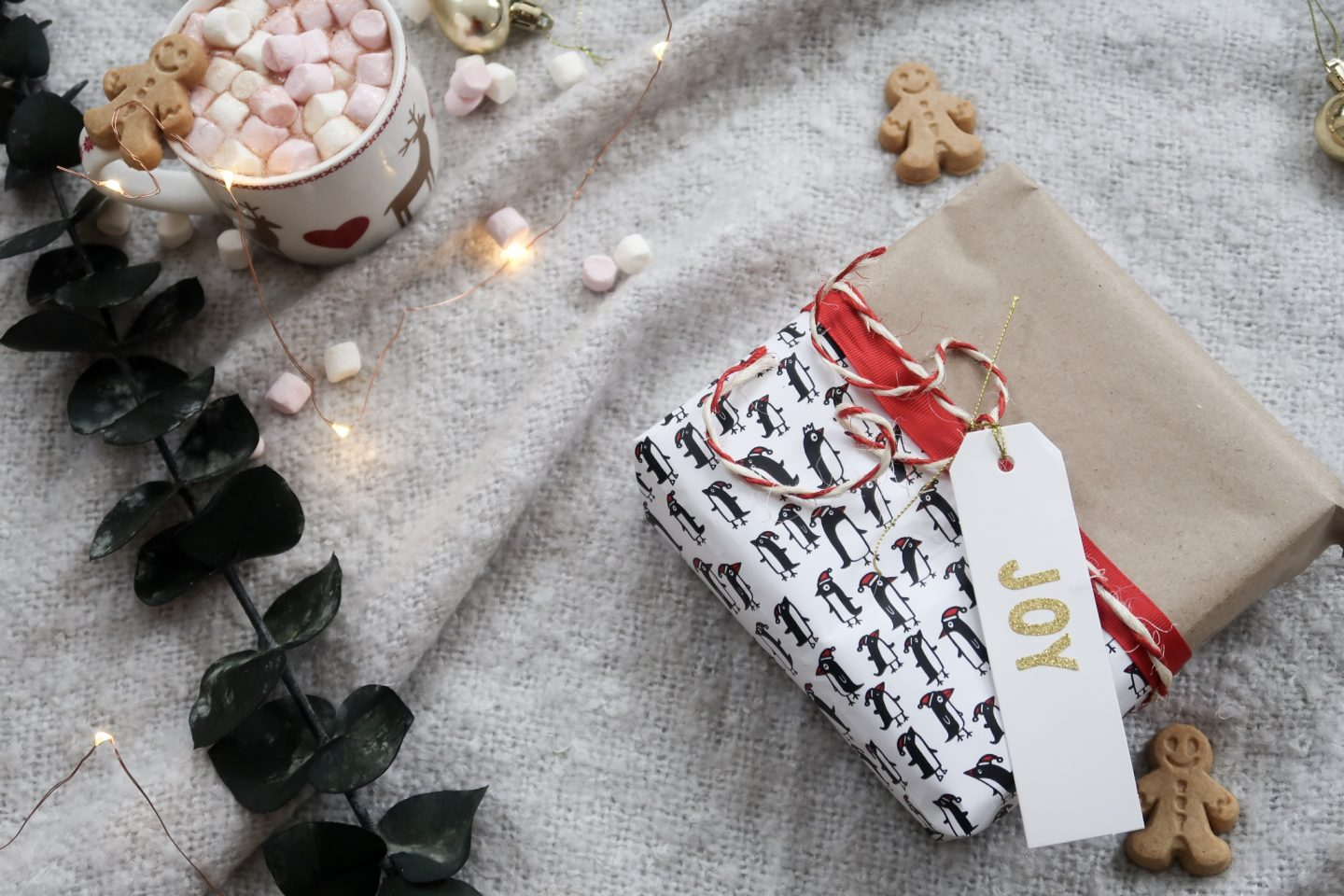 Christmas brown wrapping paper ideas