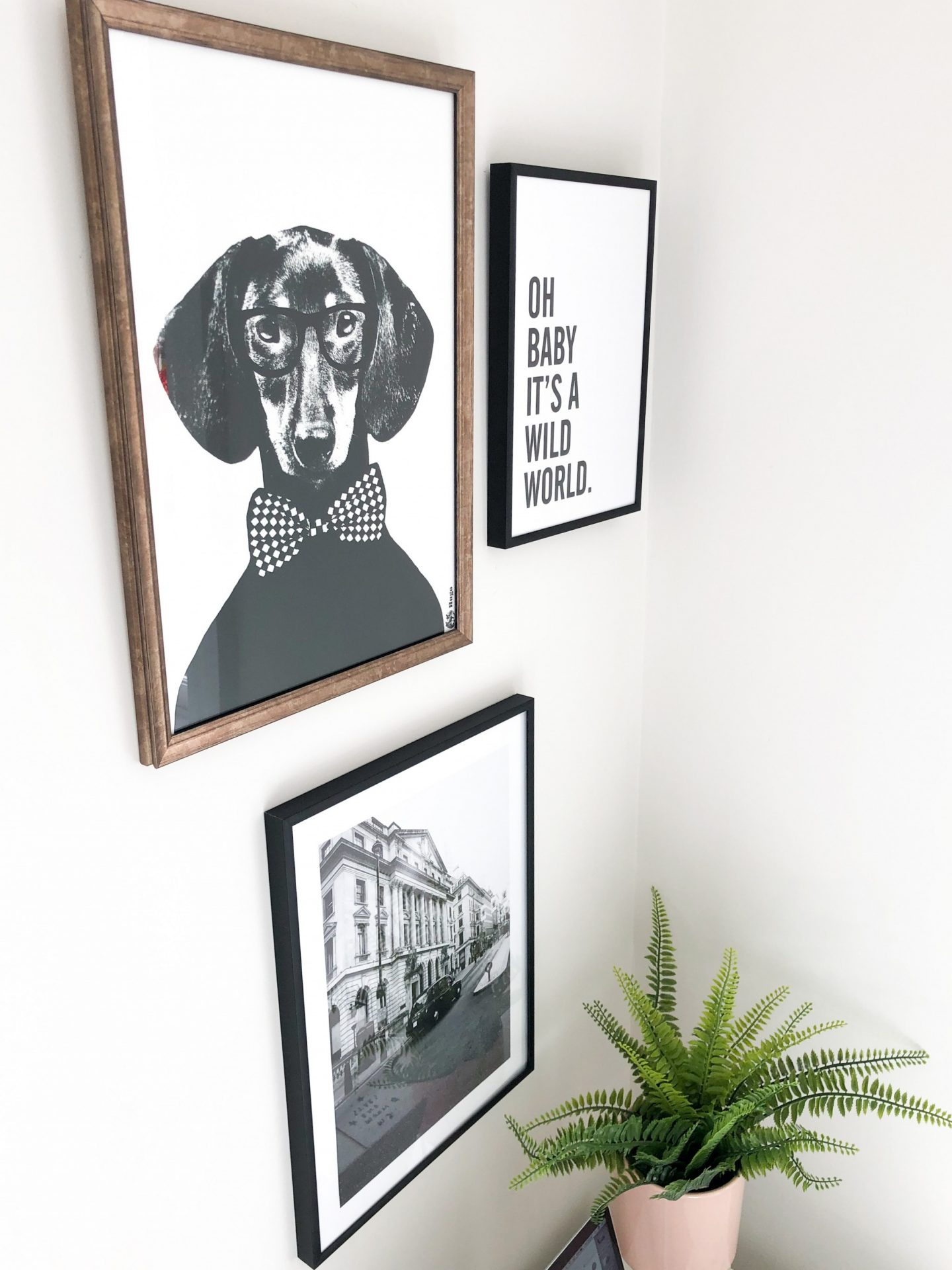 desenio prints gallery wall