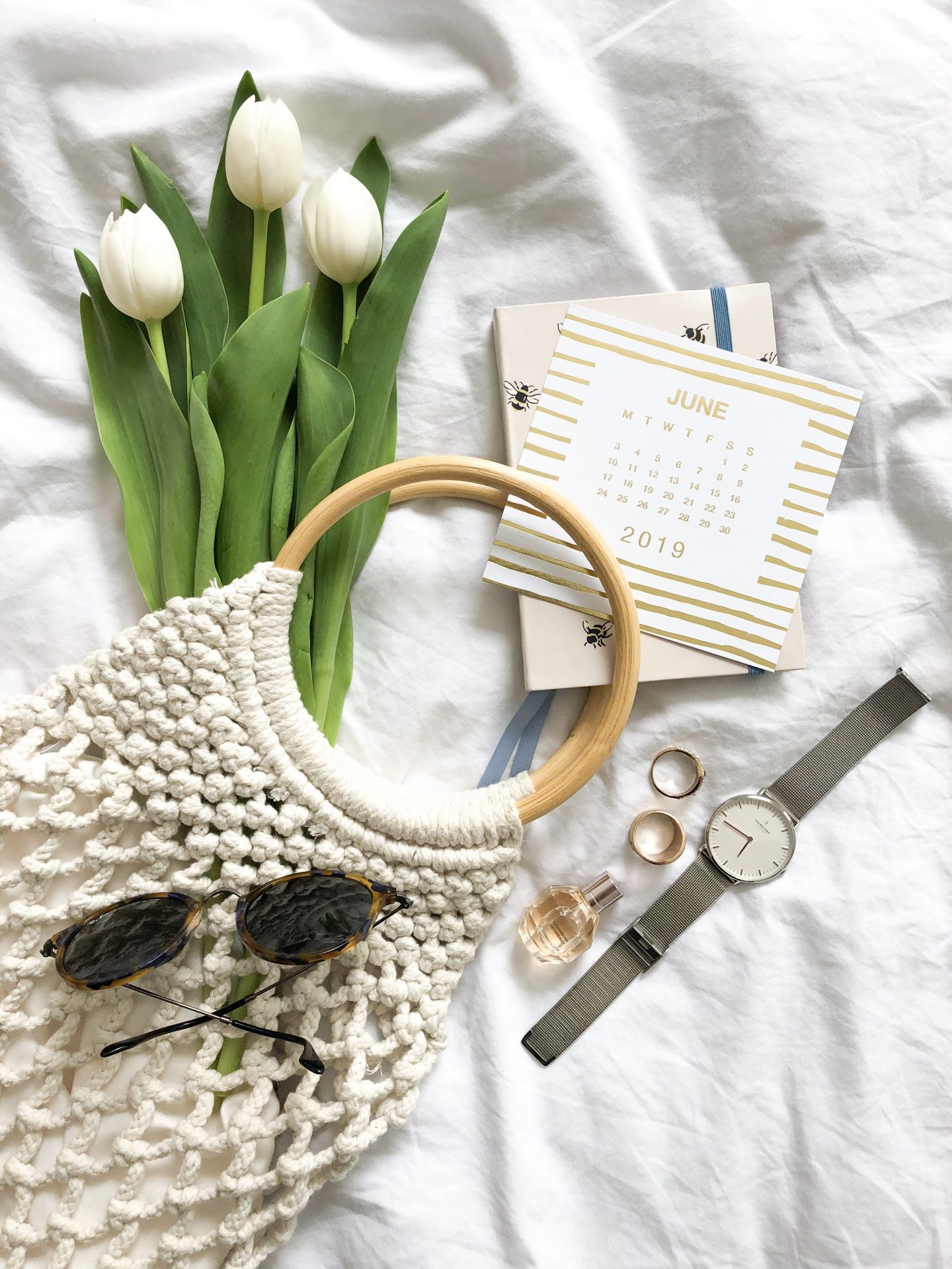 flatlay photography props