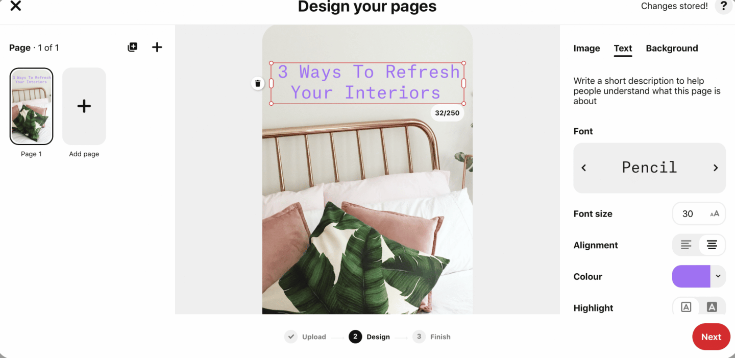 what are Pinterest idea pins