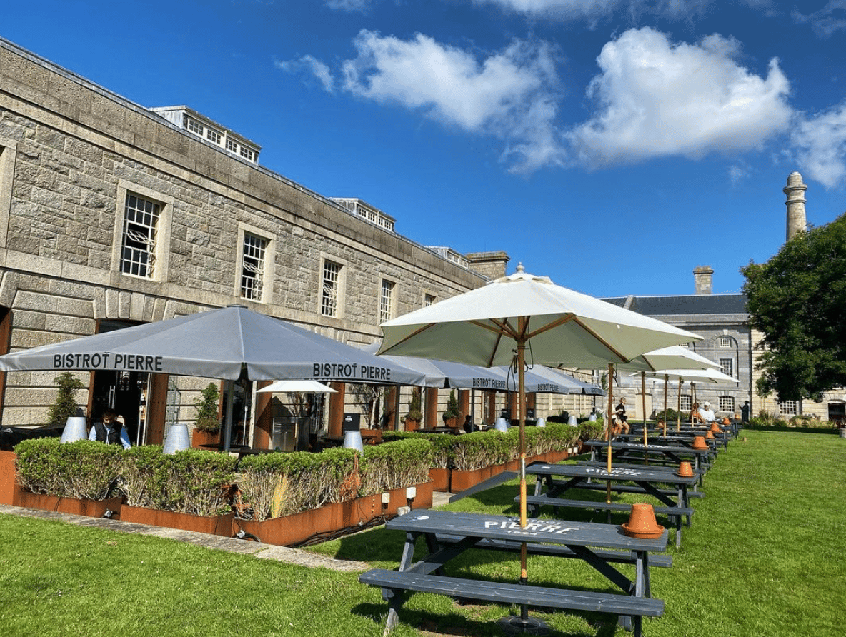 places to eat in the royal William yard bistrot Pierre